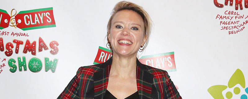 Kate McKinnon attends the 'Ruben and Clay's Christmas Show' Opening Night