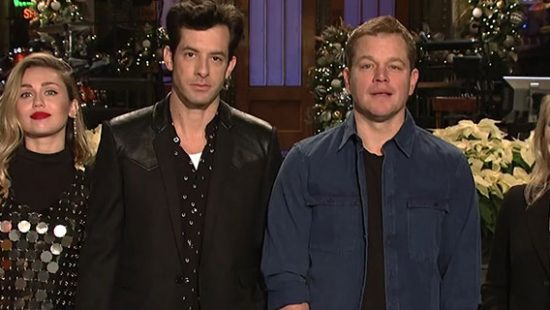 Saturday Night Live: 44×09 – Matt Damon/Mark Ronson and Miley Cyrus (Promo)