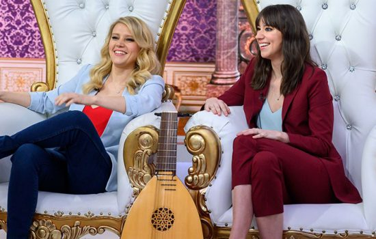 Kate McKinnon and Emily Lynne talk 'Heads Will Roll' on the Today Show