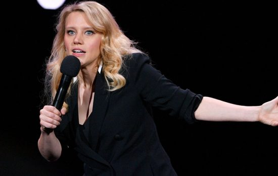 Kate McKinnon announces Hulu Limited Series 'The Dropout' at the Hulu '19 Presentation