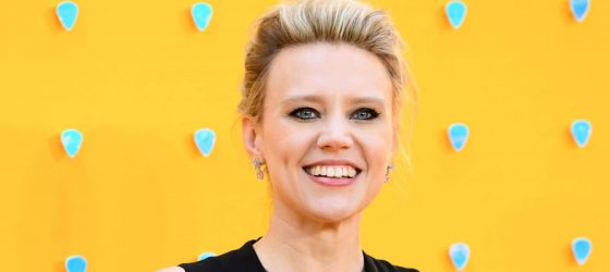 Kate McKinnon attends the 'Yesterday' UK Premiere