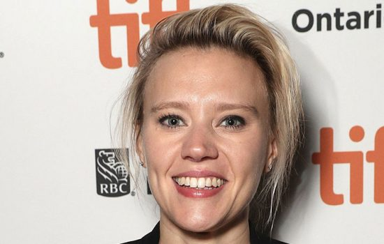 Kate McKinnon attends the 'Jojo Rabbit' Premiere at the Toronto International Film Festival