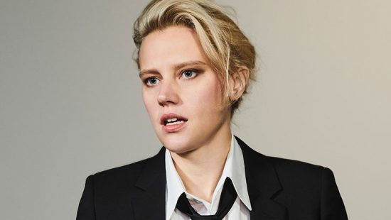 Kate McKinnon on the cover of Interview Magazine
