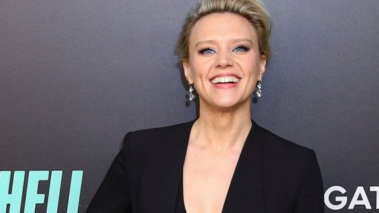 Kate McKinnon attends the 'Bombshell' New York Screening