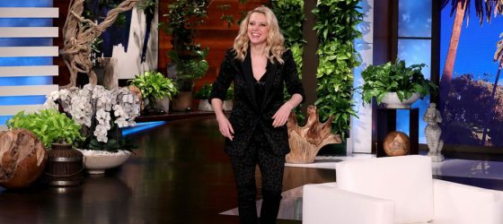 Kate McKinnon Visits The Ellen DeGeneres Show