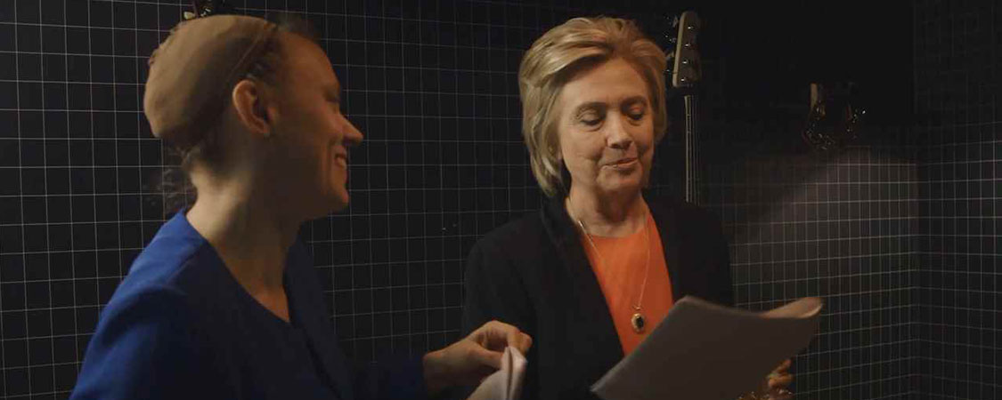 Entertainment Weekly releases clip of Kate McKinnon and Hillary Clinton rehearsing for SNL