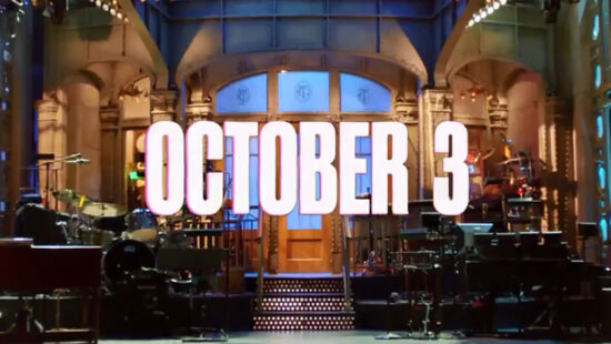 'Saturday Night Live' to Return Oct. 3 With New Live Episodes