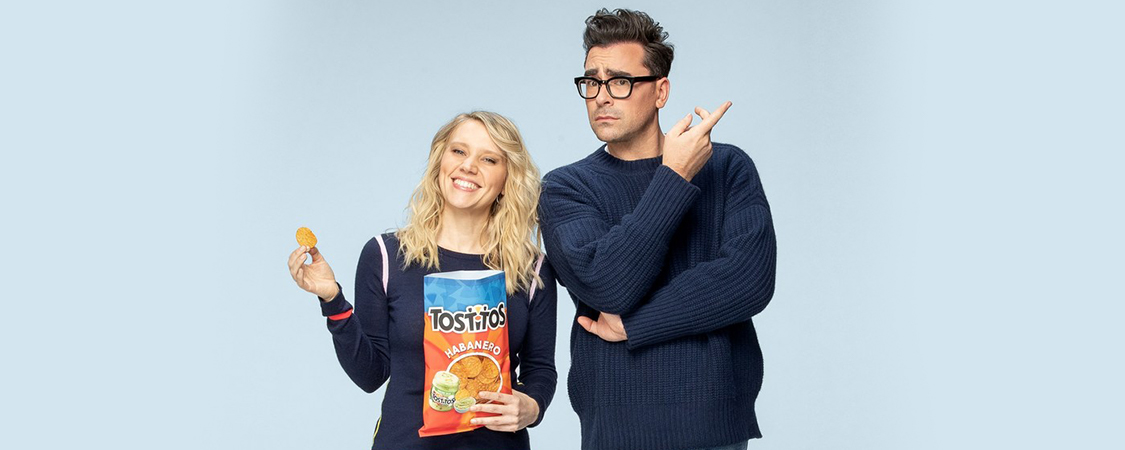 Kate McKinnon and Dan Levy Team Up For The Love of Tostitos Chips and Dip™ and Making Memorable Moments